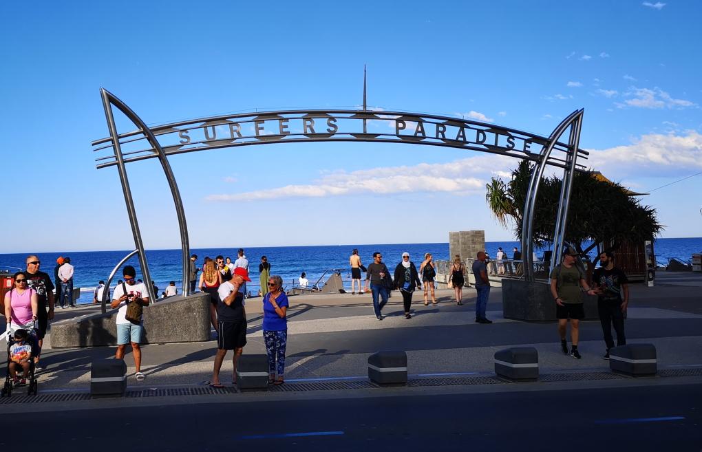 L'arche de Surfers Paradise