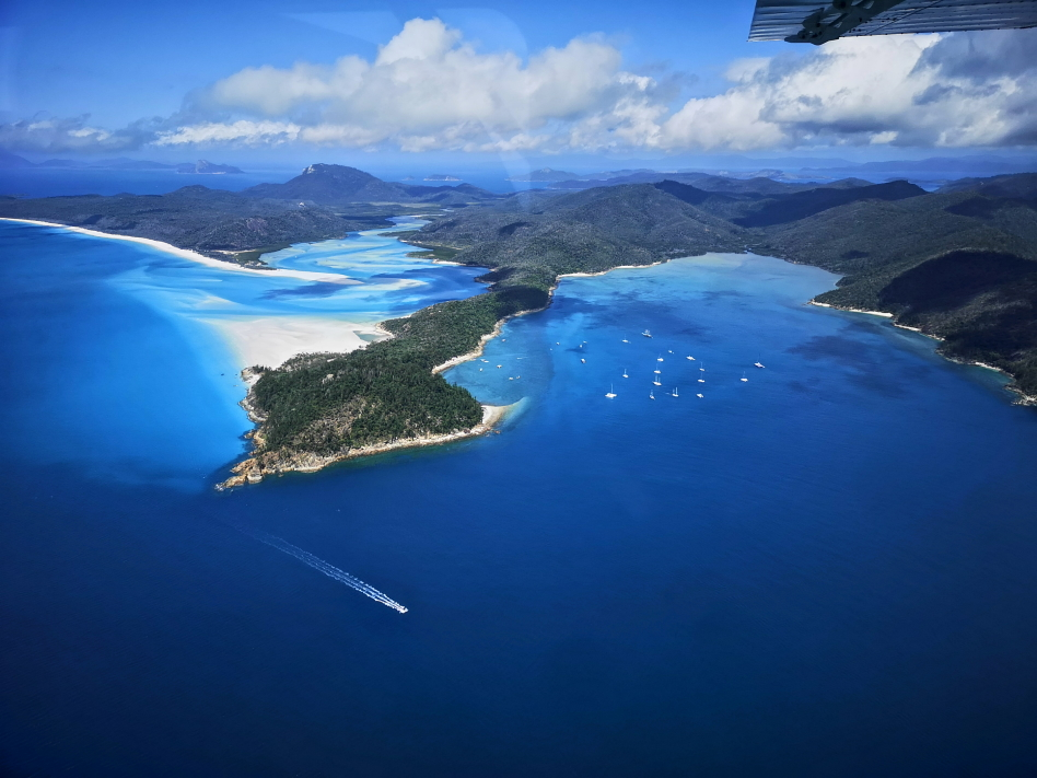 Au milieu des Whitsundays Islands