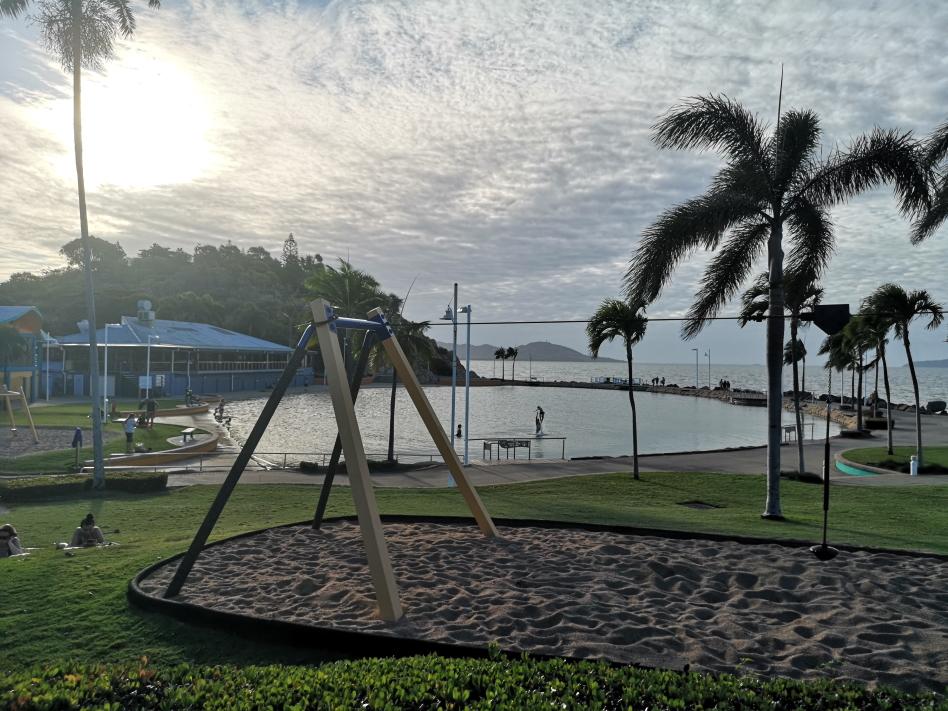 Le Rock Pool, le lagon de Townsville, à l'eau de mer