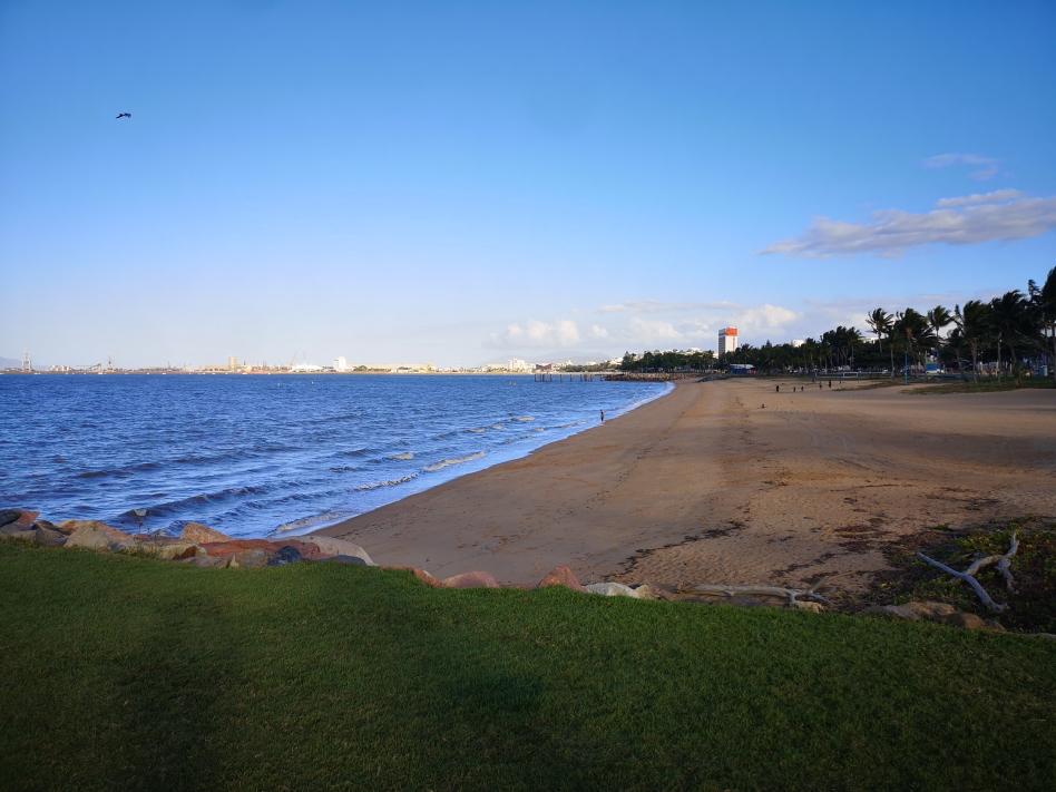 La plage de Townsville