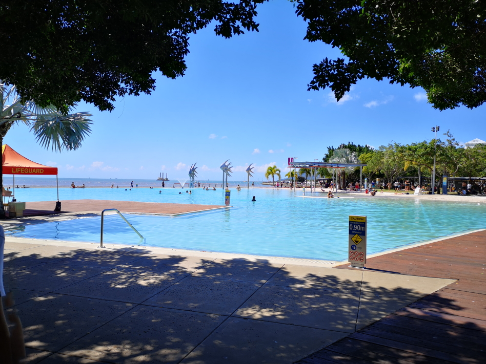 Le lagon de Cairns, le plus beau! Eau douce