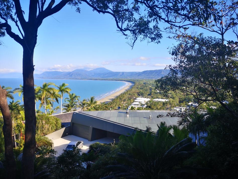 Vue depuis le Trinity Bay Lookout