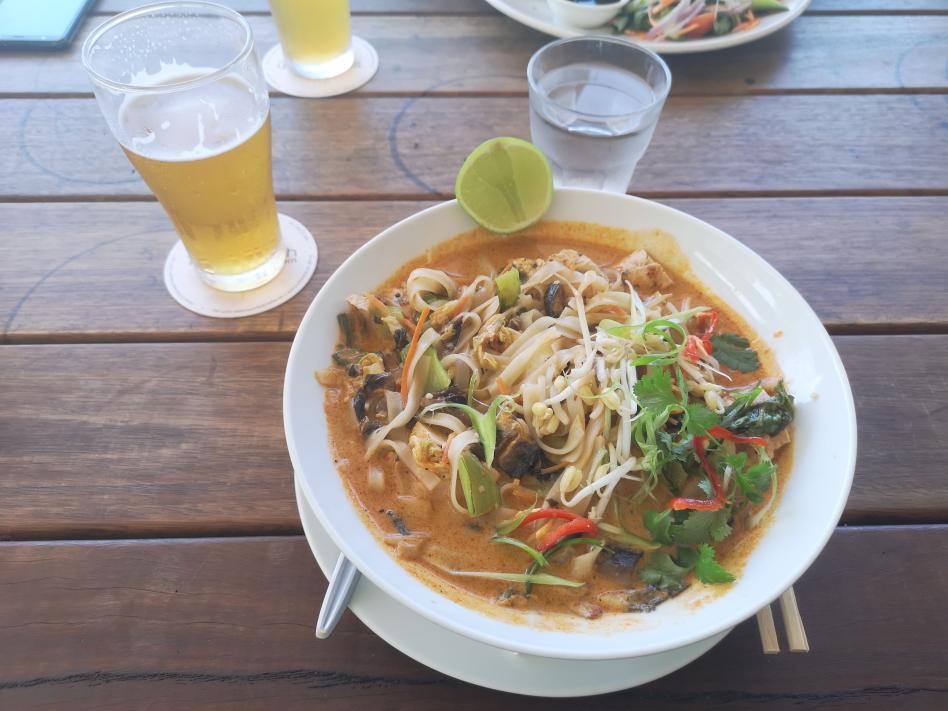 Un bon Laksa (plat malaysien)
