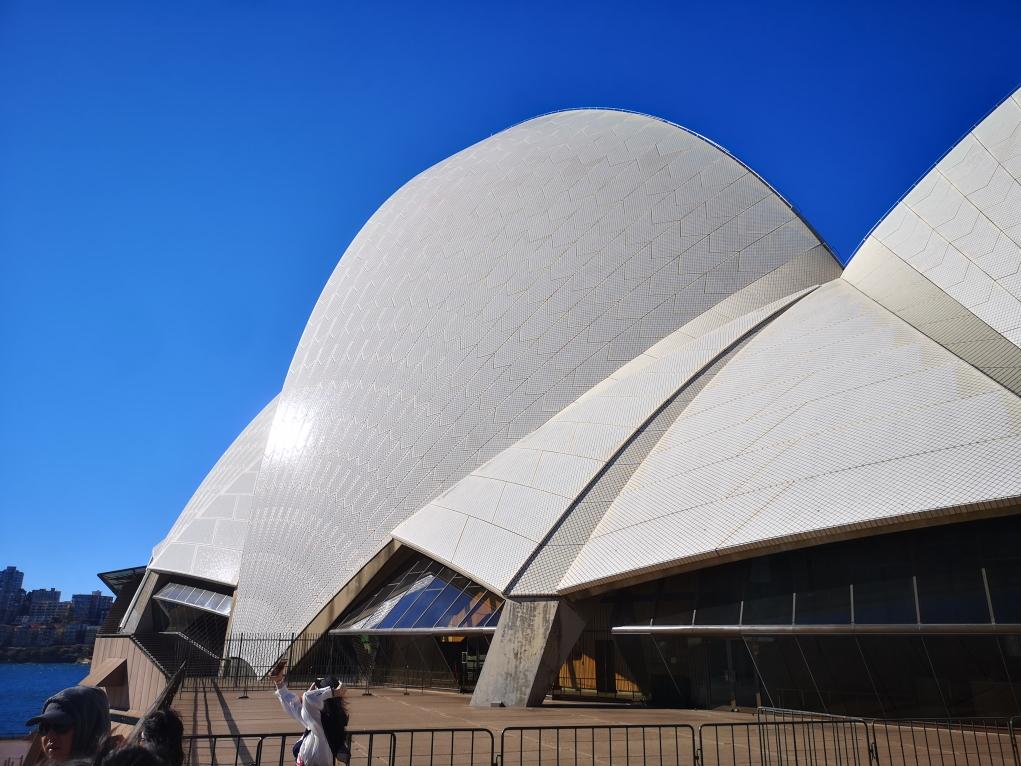 Retour devant le célèbre Opera House