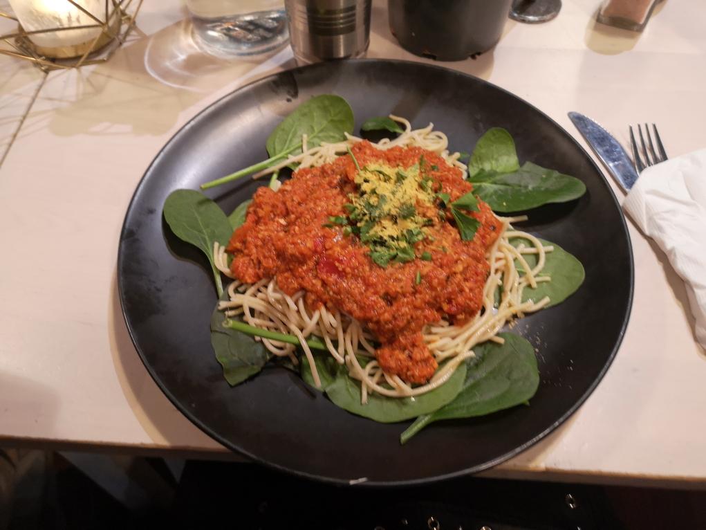 Spaghetti Bolognaise sans viande!