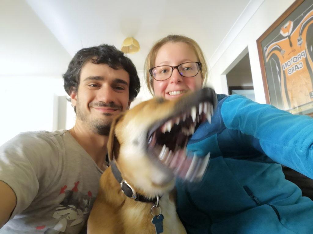 Rufus et sa mâchoire incroyable