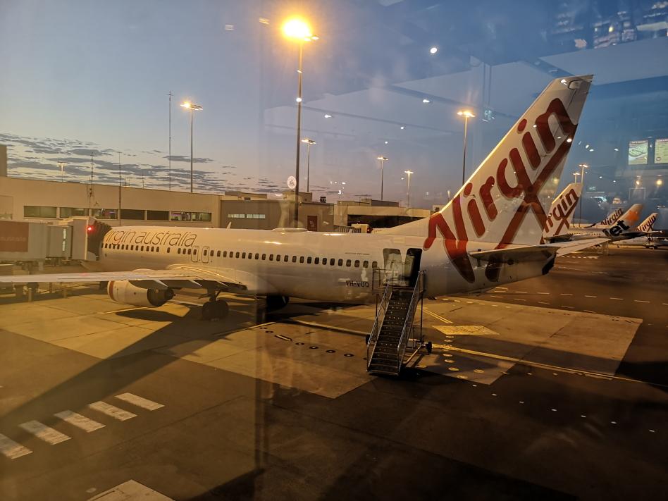 Avion matinal de Sydney à Brisbane