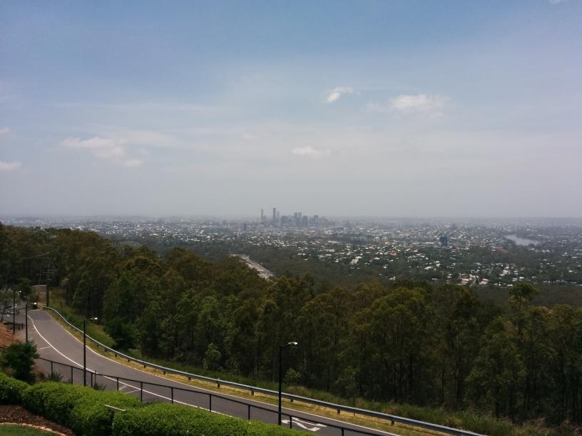 Vue depuis le Mont Coot-Tha sur la région de Brisbane