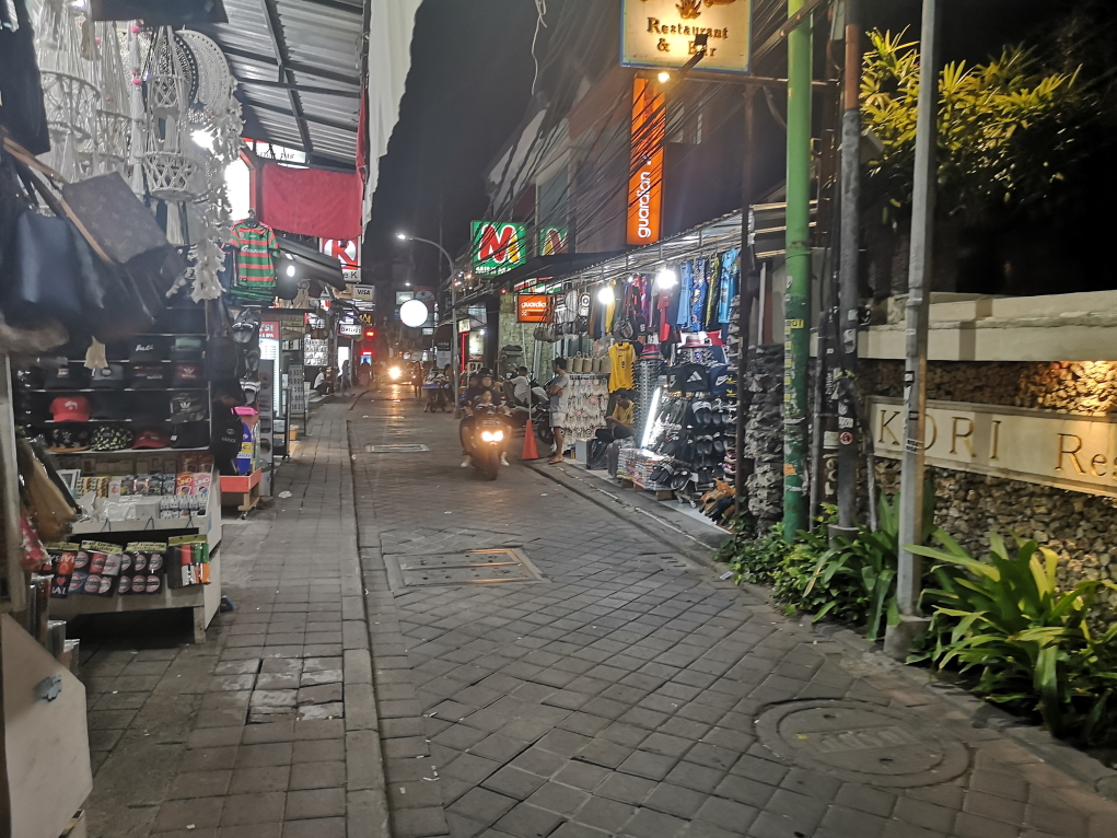 Une rue de Kuta