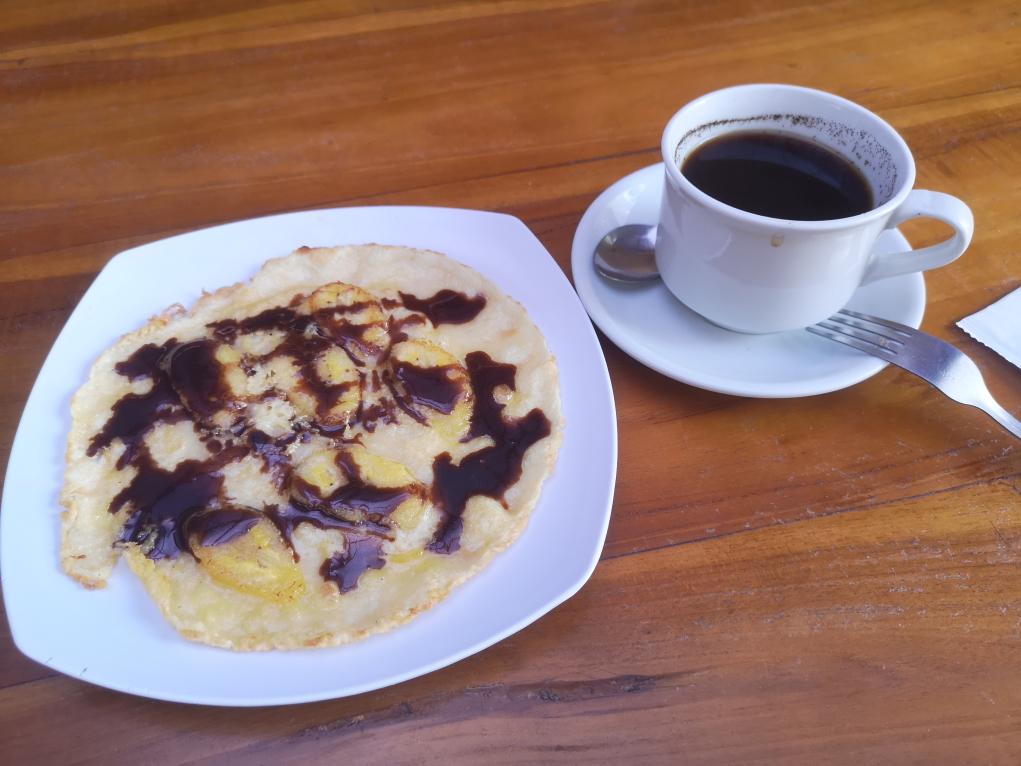 Banana Pancake et Bali Coffee