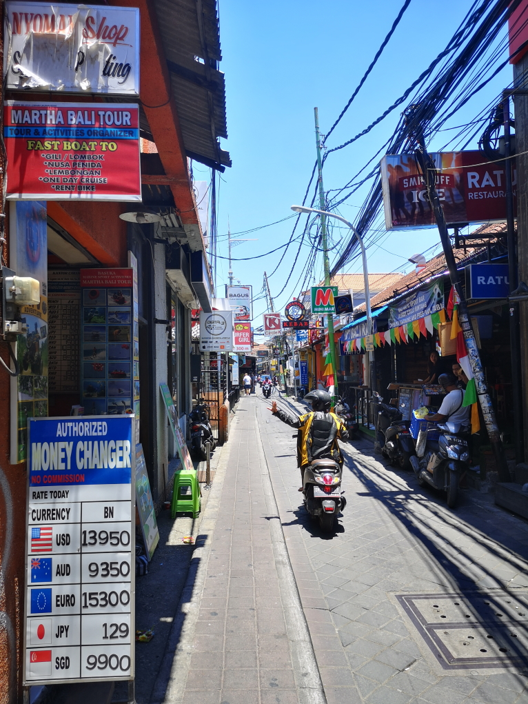 Une ruelle de Kuta