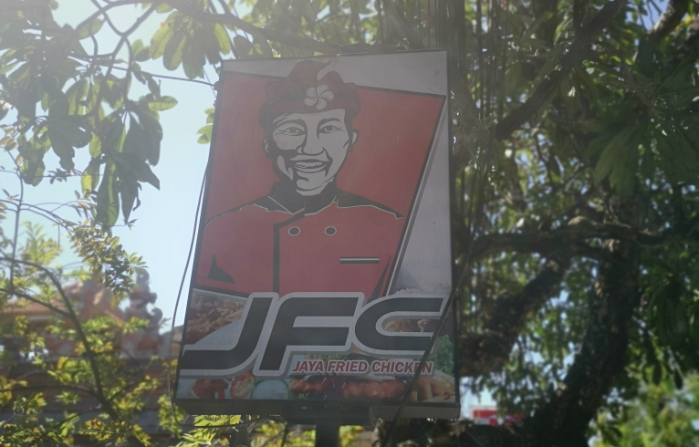 JFL, Java Fried Chicken. Une concurrence rude. pour KFC
