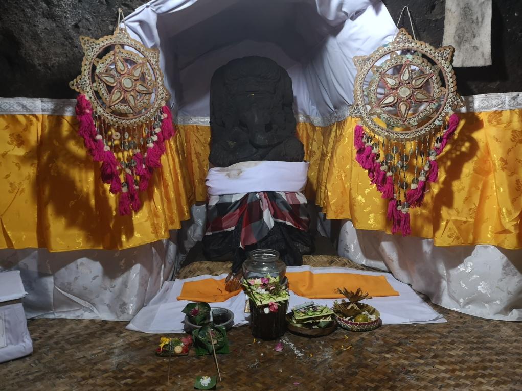 Statue de Ganesh, le Dieu à tête d'éléphant