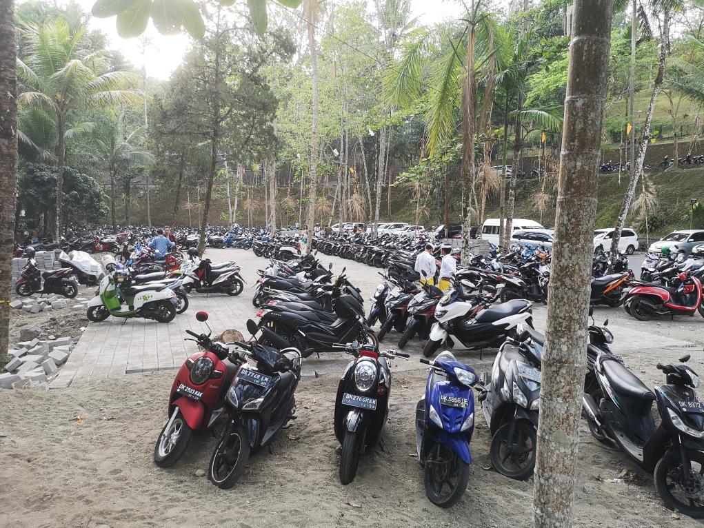 Parking du temple