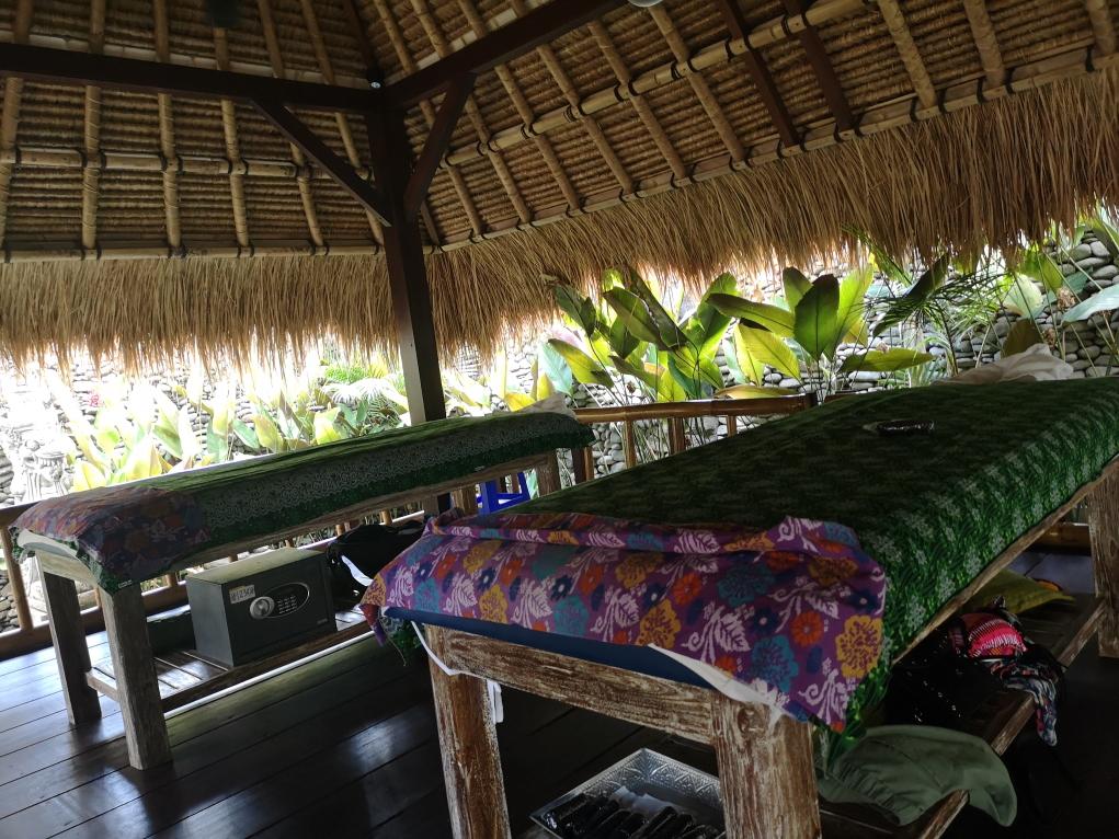 Nos tables de massages sous le bale