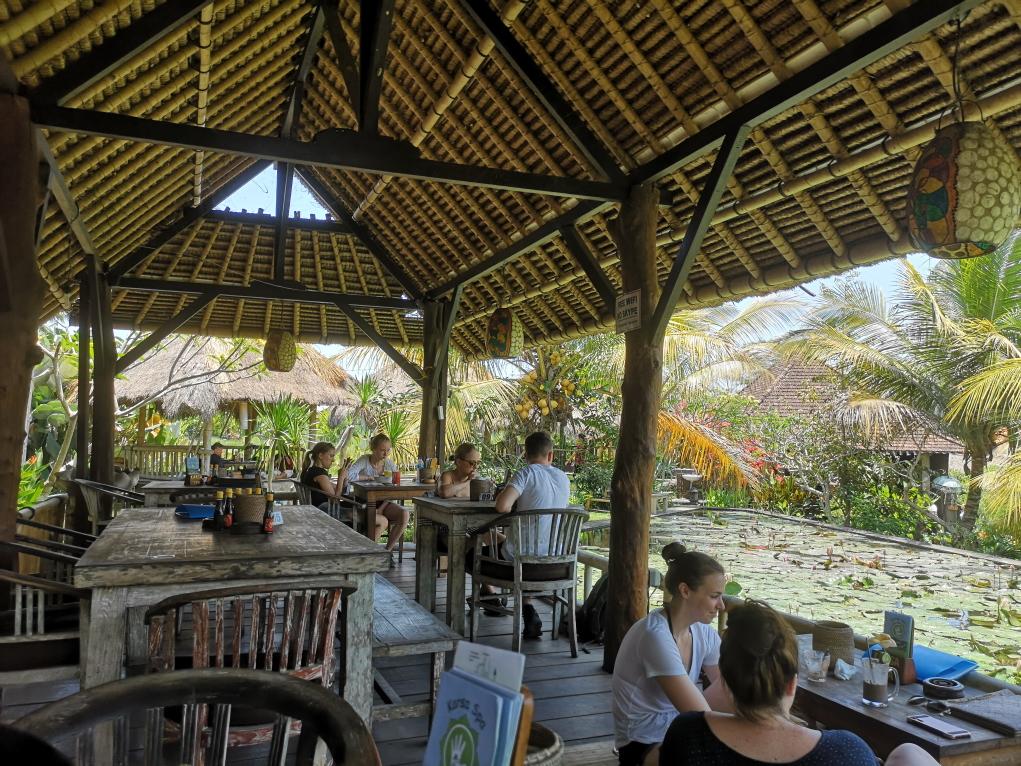 Karsa Kafe, dans un cadre magnifique