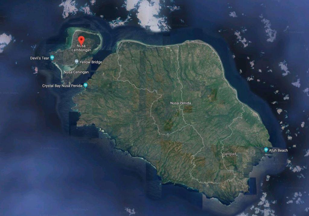 Îles Nusa à Bali