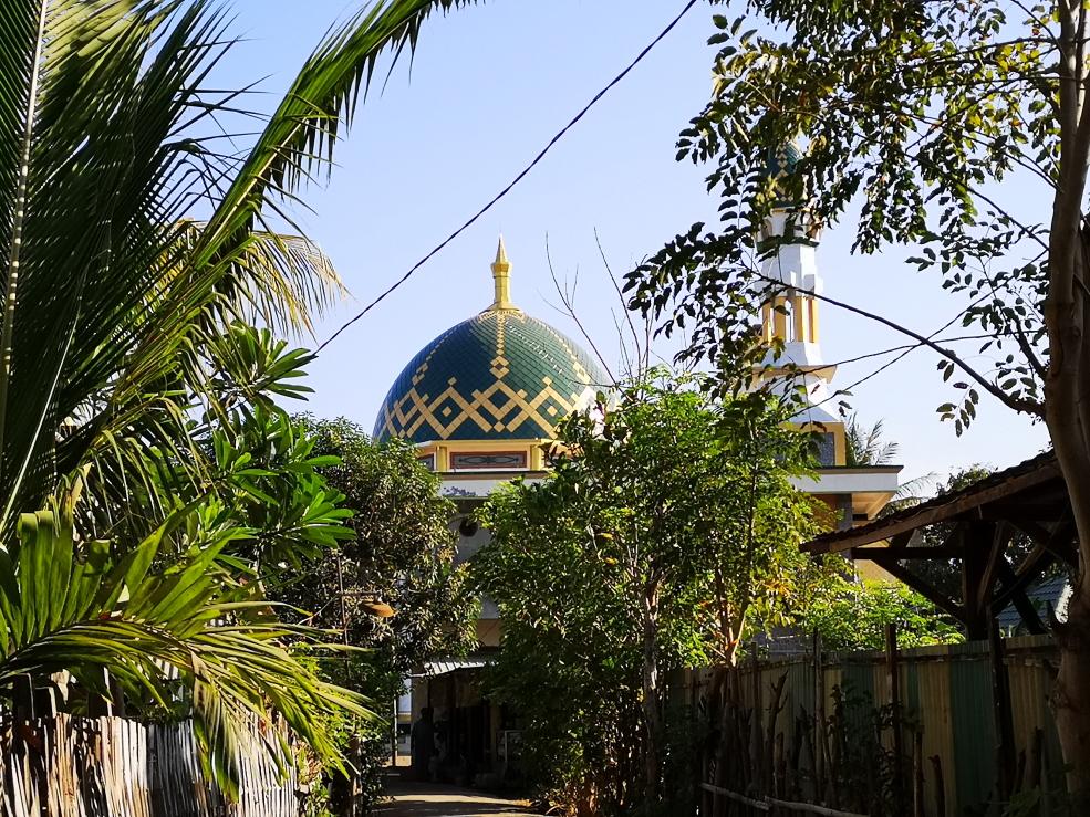 Aperçu de la mosquée de Gili Air