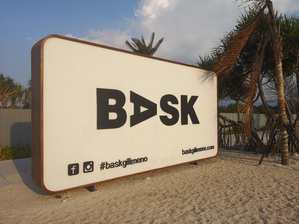 Promotion du futur complexe hôtelier BASK qui devrait ouvrir en 2020