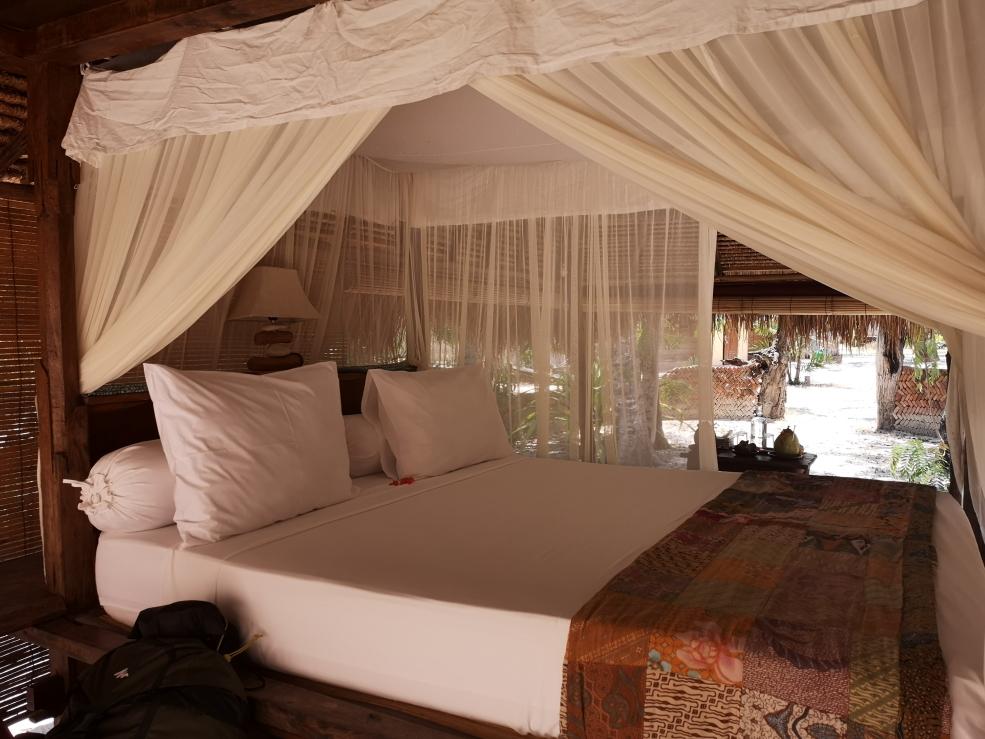 Notre lit dans le bale