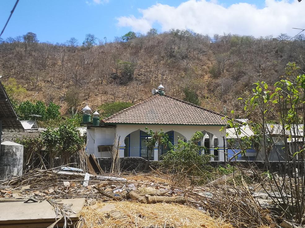 La mosquée de l'île