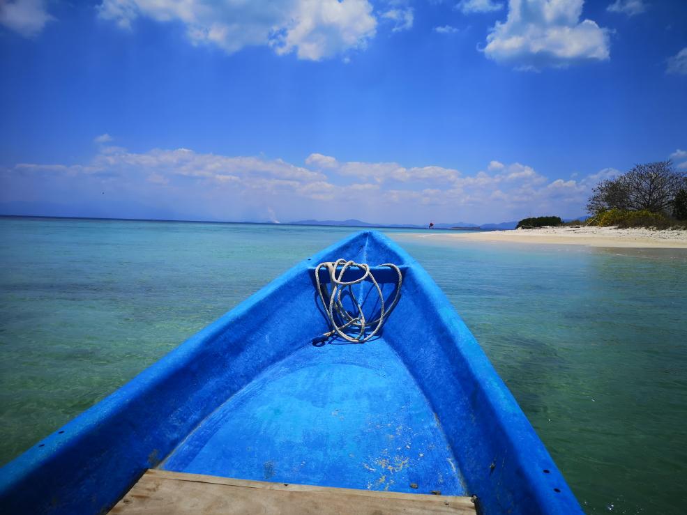 Départ en bateau pour Gili Gede où un fast boat prendra le relais