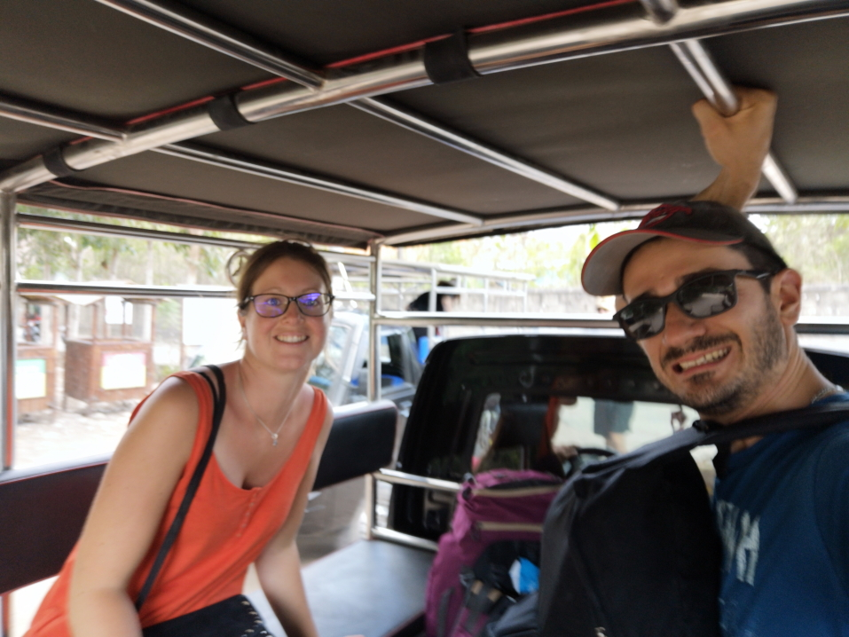 Taxi un peu particulier sur Nusa Lembongan
