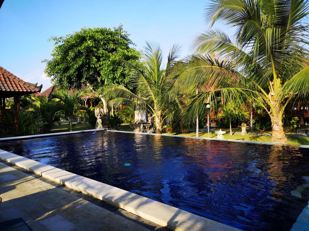 Piscine aux Cozy Villas sur Nusa Lembongan