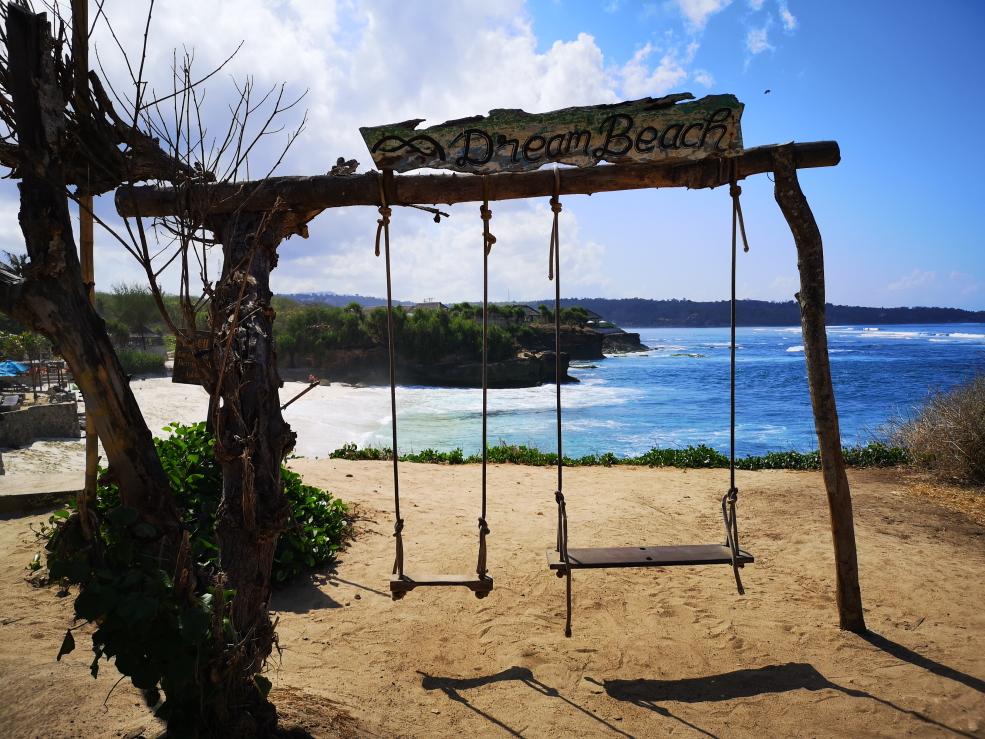 Balançoire sur Dream Beach