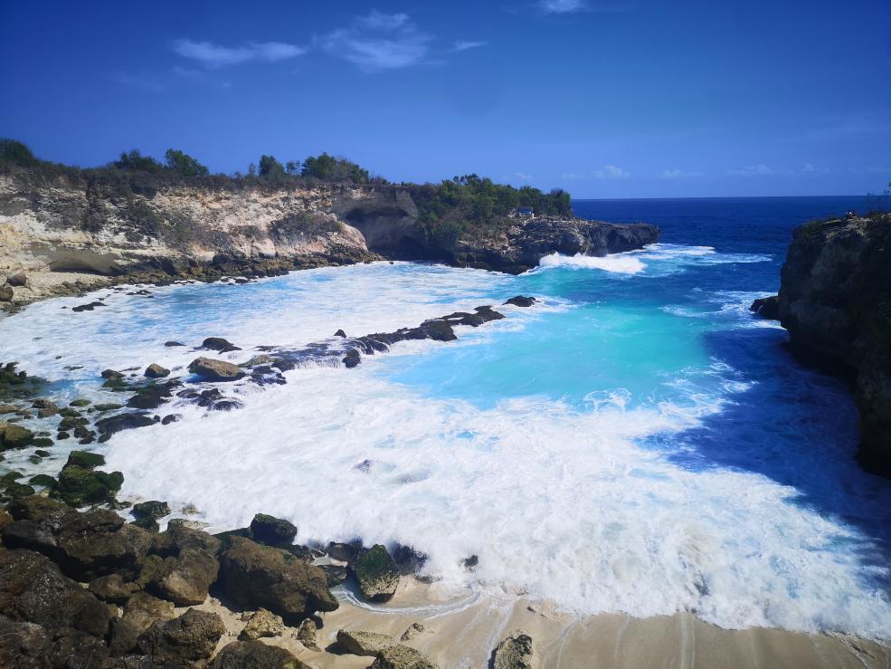 Blue Lagoon sur Nusa Ceningan