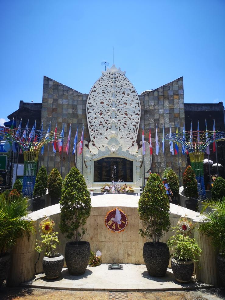 Monument commémoratif des attentats de Bali du 12 octobre 2002 où deux bombes ont tué 202 personnes et blessé 209 autres