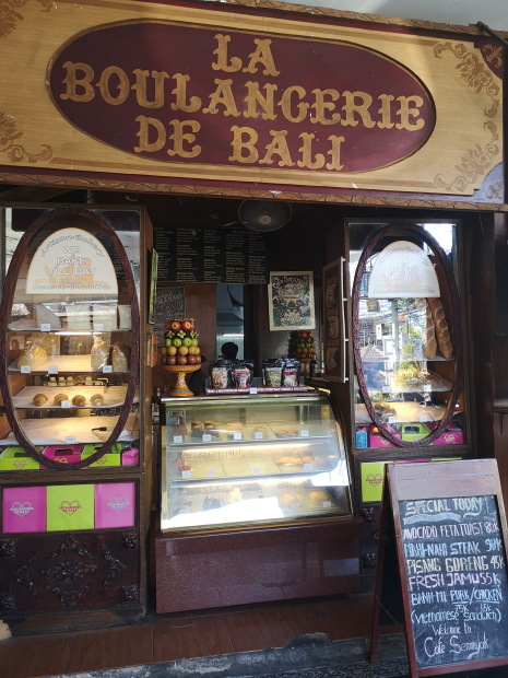 Boulangerie de Bali à Seminyak