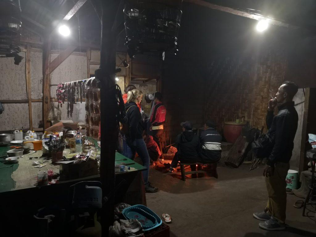 La hutte de mineurs