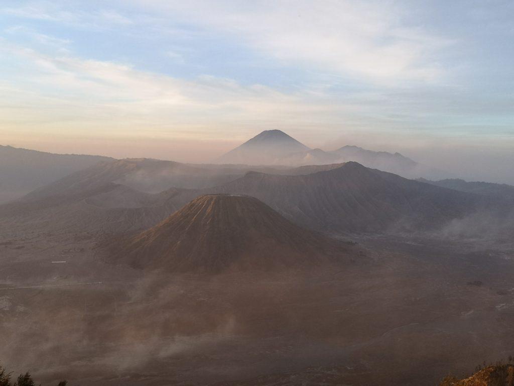 Vue sur le Bromo depuis la King Kong Hill