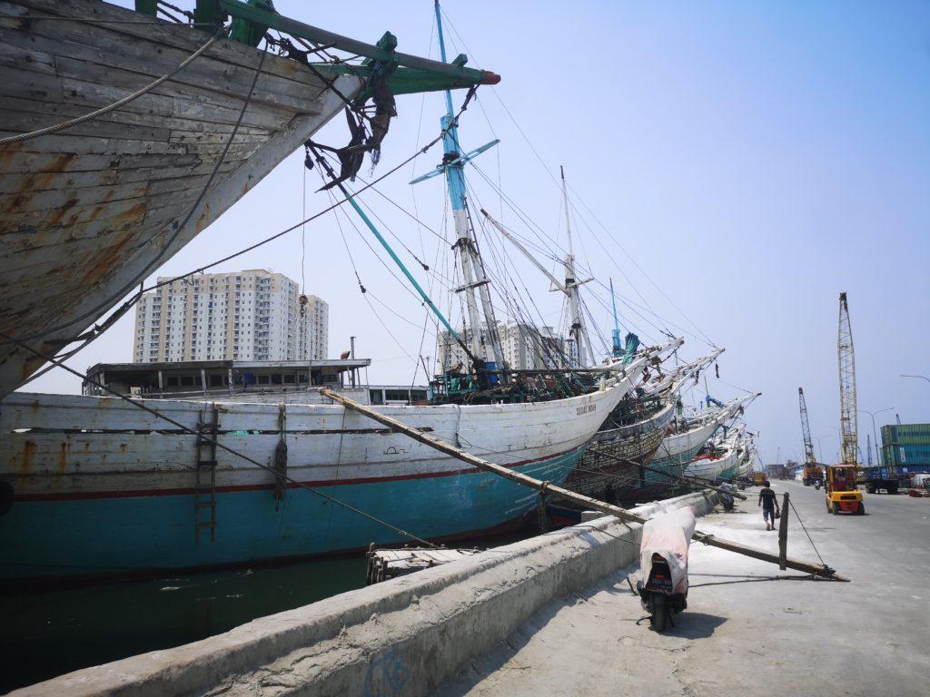 Sunda Kelapa et ses vieux bateaux