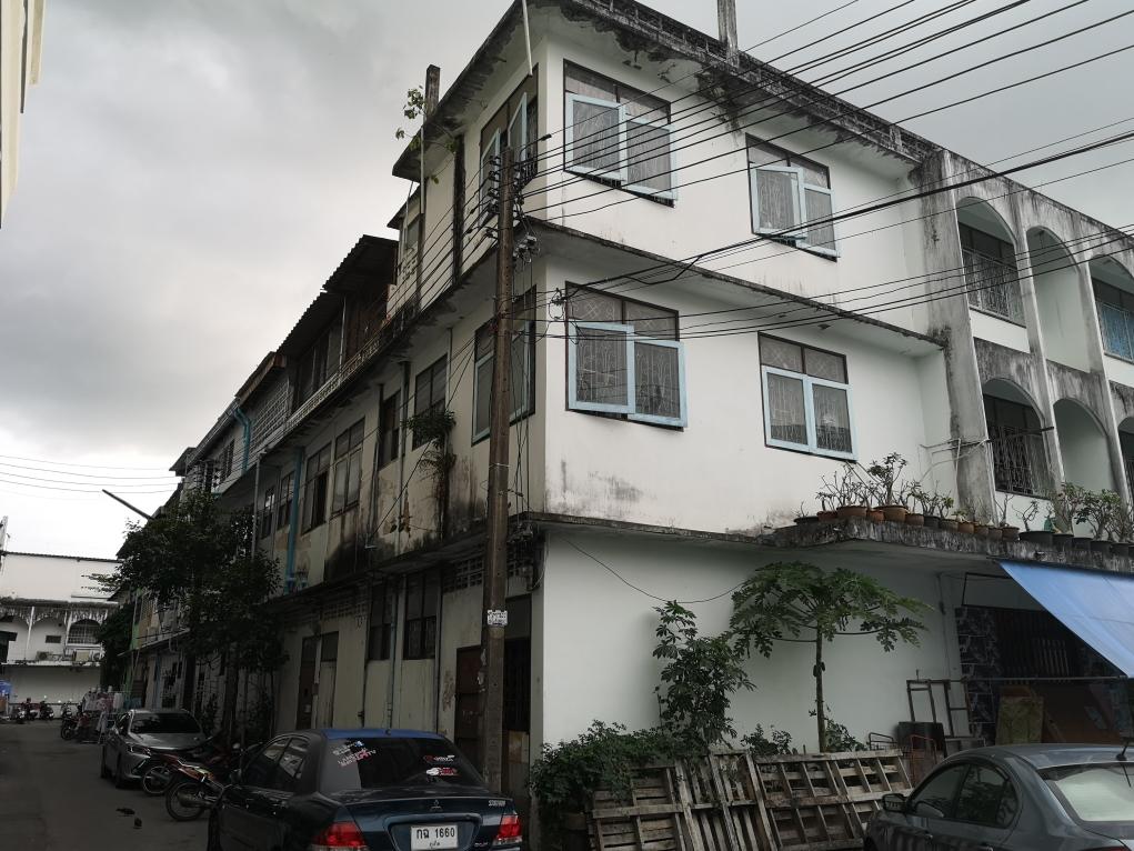 Vue de notre quartier dans la vieille ville de Phuket