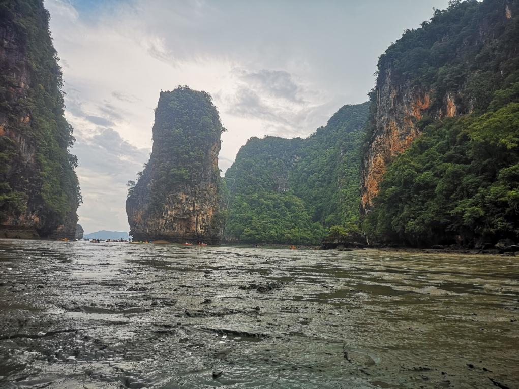 Les environs de Hong Island