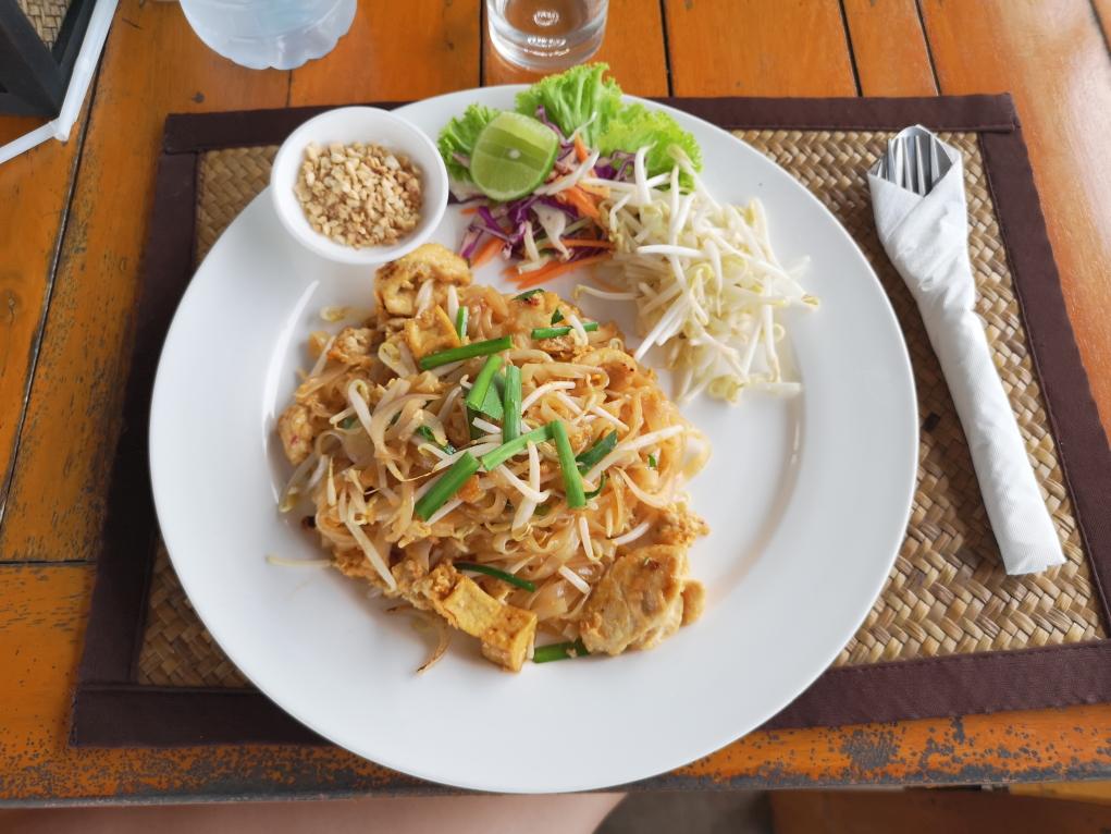 Encore un pad thaï, on ne s'en lasse pas