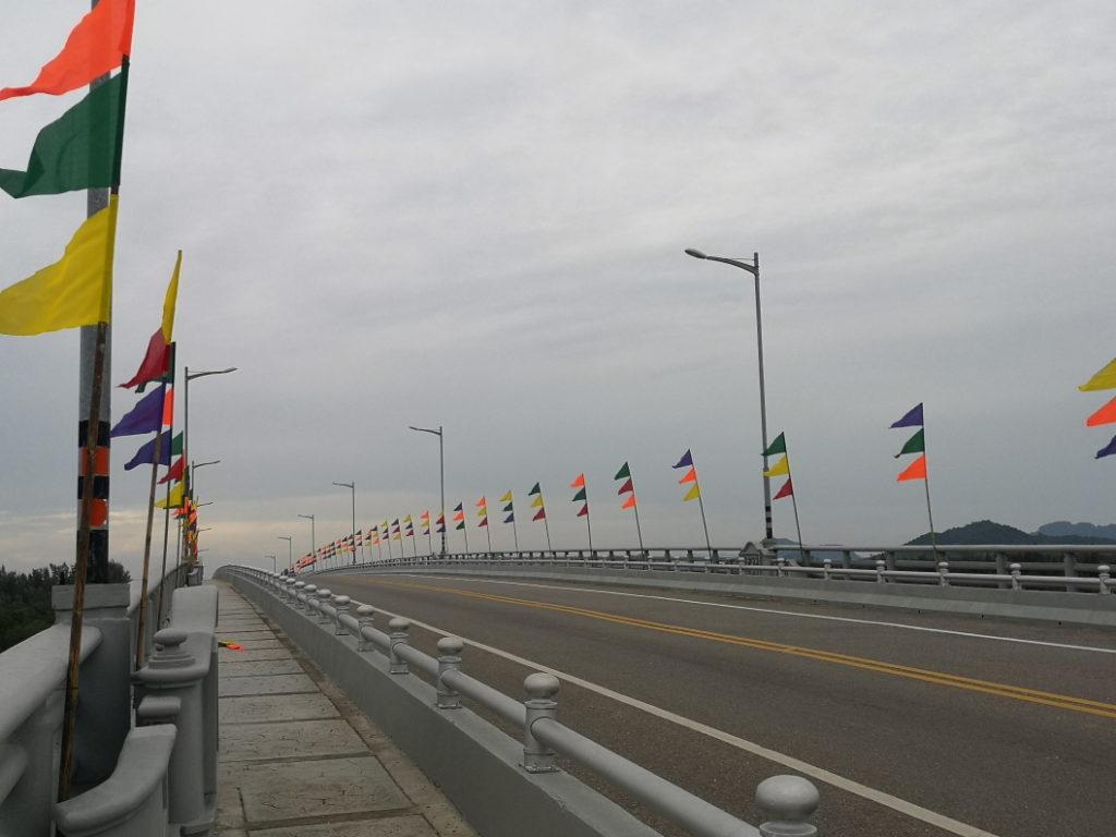 Le pont reliant les deux îles principales de Koh Lanta