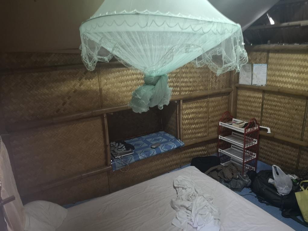L'intérieur du bungalow
