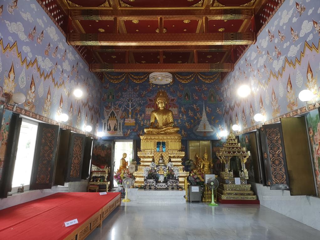 L'intérieur du Temple Blanc