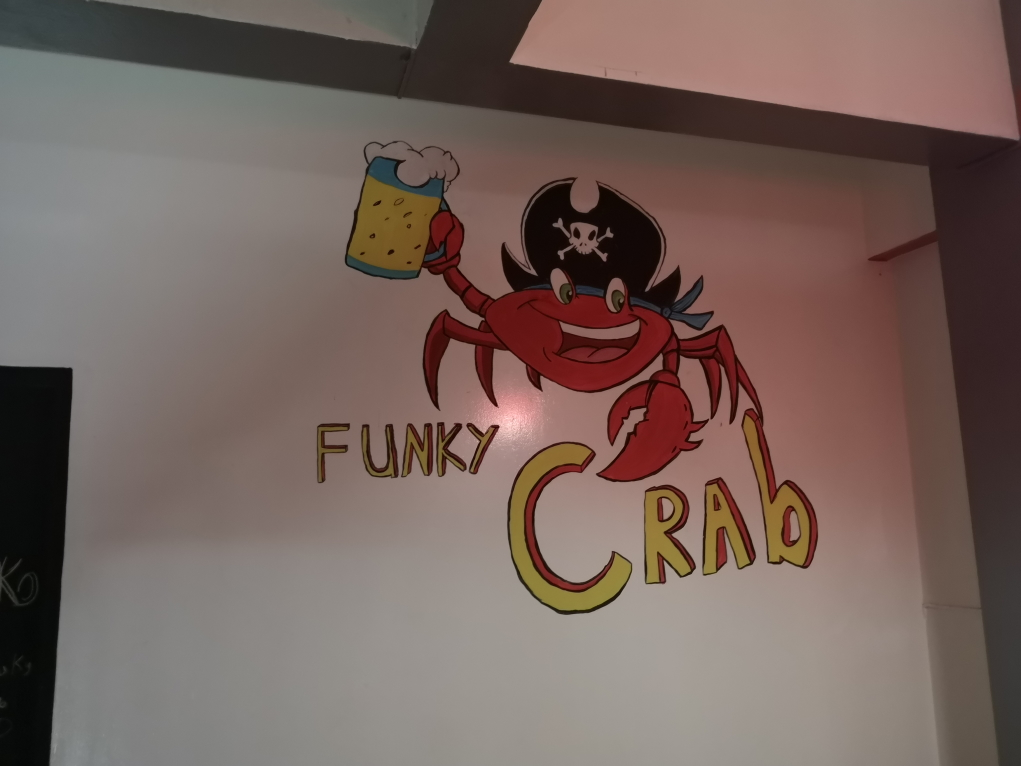 Le Funky Crab, notre guesthouse!