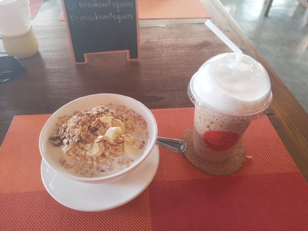 Un bon petit déjeuner pour commencer la journée