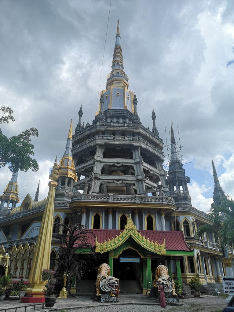Bâtiment dans l'enceinte du parc du Temple de la Grotte du Tigre