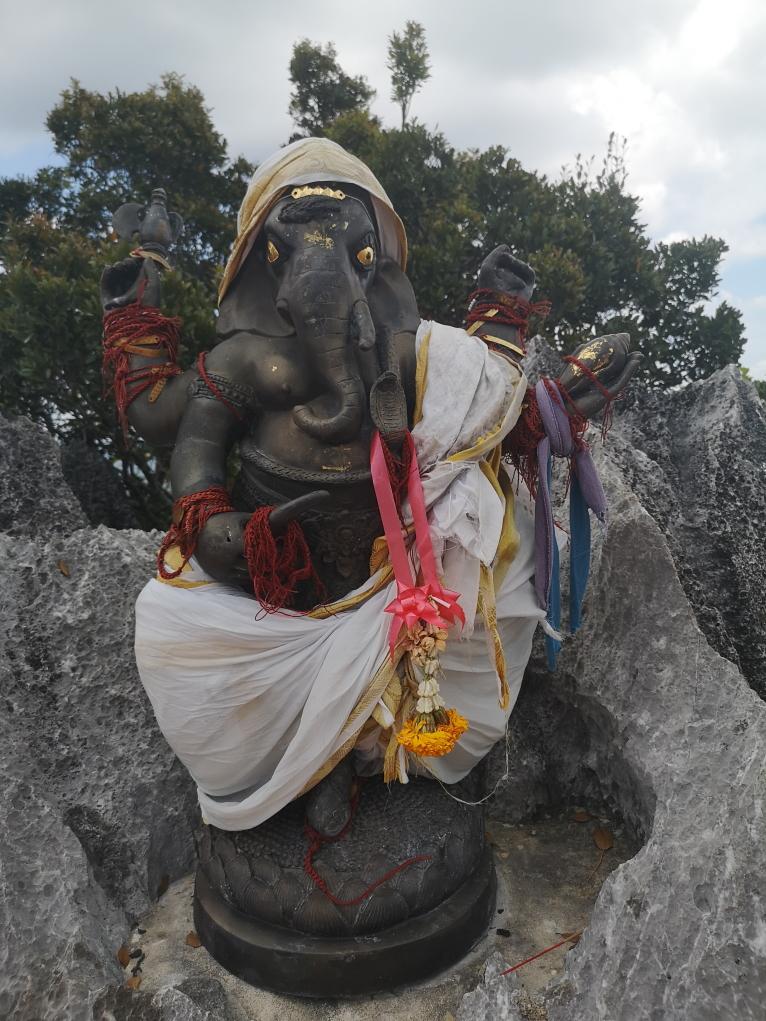Statuette de Ganesh, le dieu de la sagesse et de la connaissance