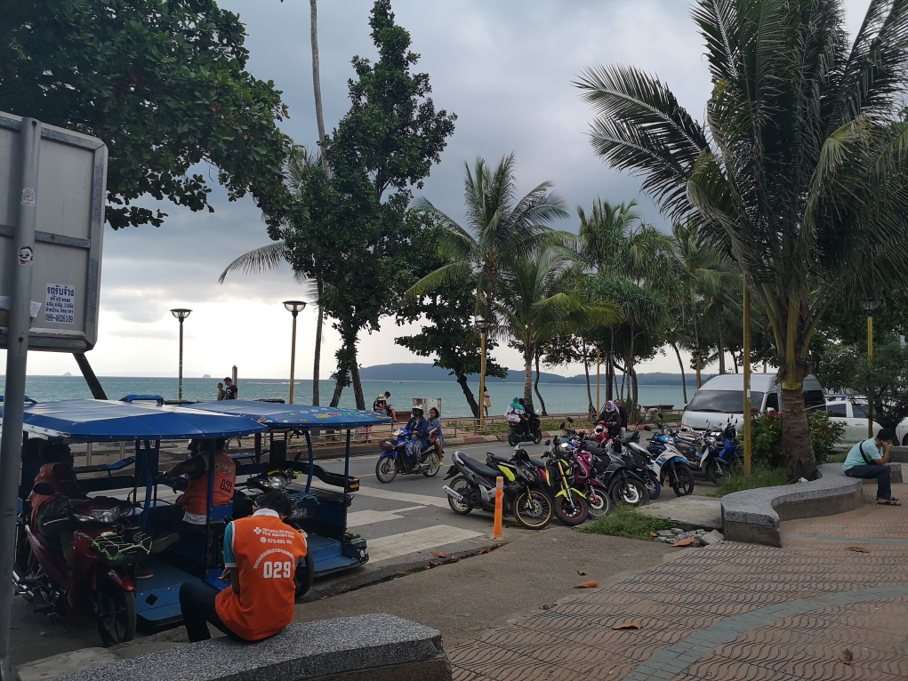 Ao Nang avant la pluie