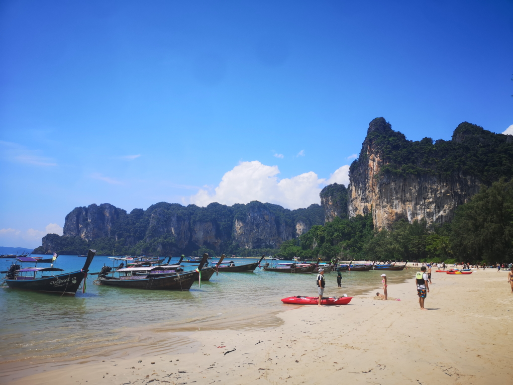 Arrivés à Railay