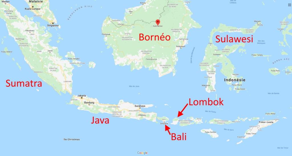 L'île de Java - Indonésie