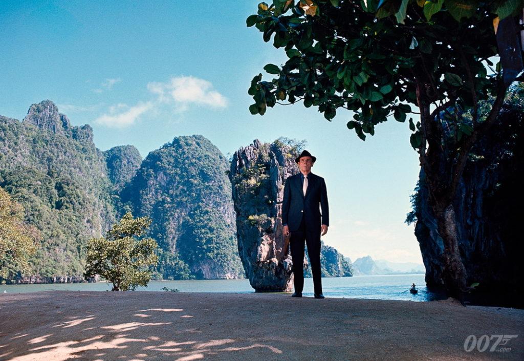Scène James Bond L'Homme au pistolet d'Or - Khao Phing Kan