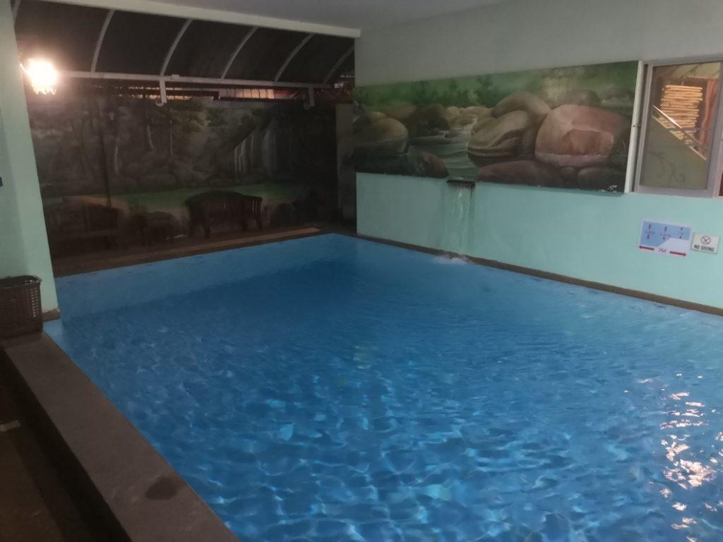 La piscine de l'Awana House